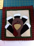 Thanksgiving candle mat