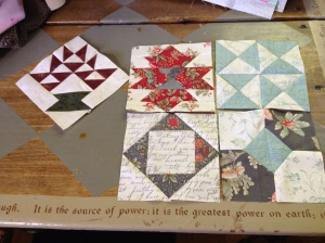 Farmer's Wife September blocks