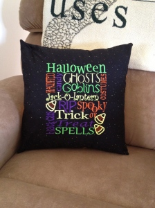 Halloween Pillow front