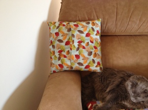 Thanksgiving pillow back