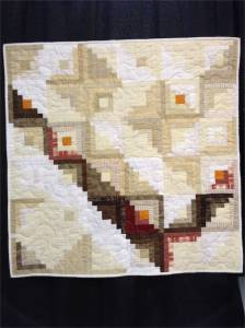 Off the Beaten Path by Nancy Lindberg quilted by Robin Adams