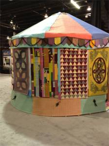 The Quilted Yurt by Linzi Upton