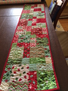 Table runner front