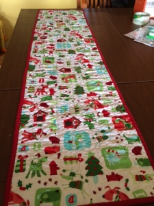 table runner - back